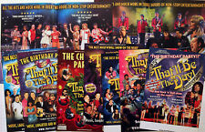 THAT'LL BE THE DAY MUSICAL THEATRE FLYERS X 7