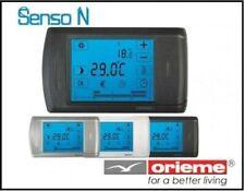 Crono termostato ambiente senso da muro grasslin/orieme alim.pile Touch Screen