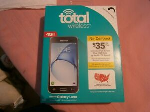 Total Wireless-Samsung Galaxy Luna-No Contract-$35/30Day Unlmtd Tlk/Txt-NIB