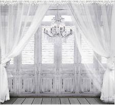 8x8FT Grey Gray Wooden Doors Curtain Custom Photo Studio Background Backdrop