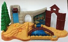 Vintage Mattel Disney Pocahontas Fields Of War Playset Toy