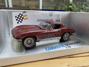 Exoto Motorbox 1967 Corvette Stingray 1:18 Malibu Red