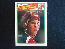 1988-1989 Brendan Shanahan Rookie O Pee Chee (OPC) Hockey Card (NM/MT))
