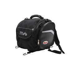 Moto Speed Motorcycle Motor Bike Motorbike Rear Tail Bag Luggage Black Soft 16L