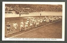 1928 Olympic Games Marathon in Stadium Amsterdam - No 101