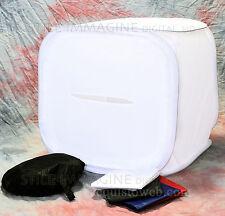 TENDA LUCE CUBO SOFT BOX SEMIRIGIDO 90 x 90 cm CON 4 SFONDI RICHIUDIBILE