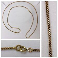 Largo Collar 585er Oro Cadena de Oro Collar de Oro 14k