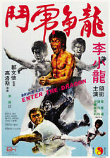 Enter the Dragon Bruce Lee movie poster print #16