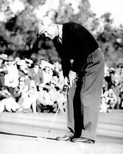 Byron Nelson 1940's putting golf photo