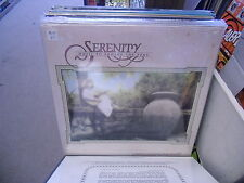 SERENITY Music To Soothe The Soul vinyl LP 1985 Light Records Sealed xian