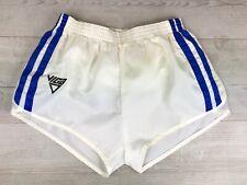 "Viga Vintage 80's High Cut Silky Shiny Nylon Running Shorts, Sz 30-32"" waist"