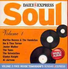 SOUL - PROMO 2 CD SET: MARTHA REEVES, IKE & TINA TURNER, AL JARREAU, VELVELETTES