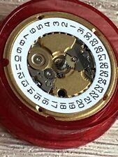 ETA 956.412 NOS 2 Hands Werk Movement  Line 8 3/4 UHR RAR weiße Datumscheibe