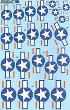 XTRADECAL 1/72 US NAZIONALE insegne STELLE E Barre con ROSSO BAR #72125