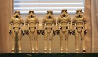 1977 Star Wars Stormtrooper Action Figure Hong Kong Lot X5