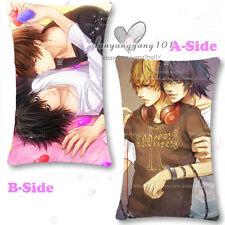 L·Lawliet&Yagami Light Death Note Bedding Dakimakura Pillow Case 35*55cm #VE91