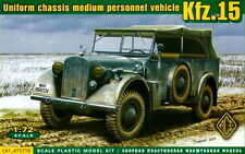 ACE 1/72 72258 WWII German Kfz.15 Uniform Chassis Medium Personnel Vehicle