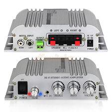 Hi-Fi 2.1CH Stereo Audio Amplifier Super Bass Music AMP Output+ AC Power Adapter
