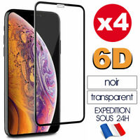 6D Vitre Protection Verre Trempé Film Ecran iPhone 12/11/Pro/XR/X/XS MAX 8 7 6S