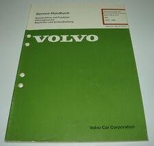Werkstatthandbuch Volvo 340 343 345 360 Motor B 13 / B 14 ab 1976 - 1991!