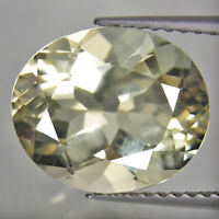 3.95ct UNCOOKED! Rare Natural Andesine Yellow Color Loose Gemstone