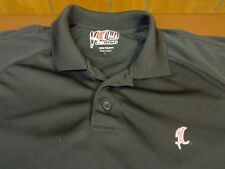 VICIOUS FISHING LOGO  POLO STYLE SHIRT  POLYESTER  LARGE