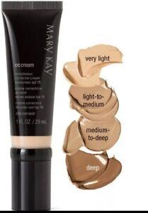 New In Box Mary Kay CC Cream Sunscreen Broad Spectrum SPF 15* Very Light