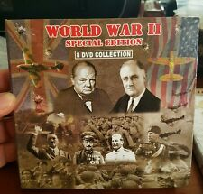World War II (2) Special Edition 8 DVD Collection DVD MOVIE 💜💜💜 FREE POST