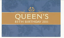 Australian Stamps: 2011 Queens 85th Birthday Stamp Pack