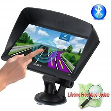 GPS Car Navigation 7 Inch Truck Lifetime Maps Bluetooth AT NAV Portable Truckers