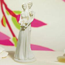Stylized Bride and Groom Wedding Cake Topper Weddingstar