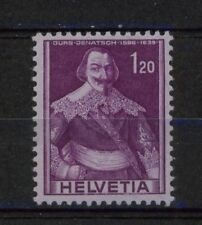 Switzerland 1941-59 SG#411a 1f20 Purple/Reddish Lilac MH