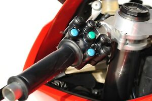 Ducati V4 race switch set, left side 7 function, right side 3 function.