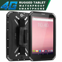"8"" Unlocked Android 4G LTE Rugged Smartphone Builder Phone Tablet Mobile NFC T80"