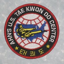 "Ahn's U.S. Tae Kwon Do Center Patch - Martial Arts - 4"" x 4"""