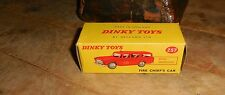 Vintage Dinky Toy #257 Nash Rambler Fire Chief's Car W/Box
