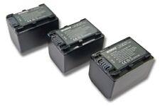 3x BATERIA INTENSILO 1500mAh PARA SONY DCR-SX34E HDR-XR350VE DCR-SX60E DCR-DVD41