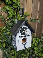 Rustic Football Birdhouse