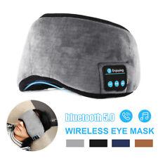 bluetooth 5.0 Sleep Eye Mask Wireless Headphones Headset Handsfree Stereo USA