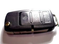 NEW 3 BUTTON REMOTE FLIP KEY FOB, for VW GOLF Mk4, PASSAT, BEETLE, POLO, 434Mhz