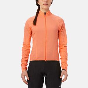 Giro Womens Chrono Expert Wind Cycling Jacket - Peach Orange
