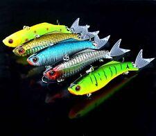 5PCS VIB Fishing Pencil Minnow Fish Bass lure hook baits 23g/10.8cm