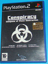 Conspiracy Weapons of Mass Destruction - Sony Playstation 2 PS2 - PAL
