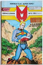 Miracleman #7-8-9-10 Eclipse Alan Moore Rick Veitch Birth Issue! 1986 Key Run