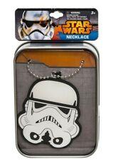 Star Wars : Stormtrooper Vinylanhänger mit Kette in Zinndose