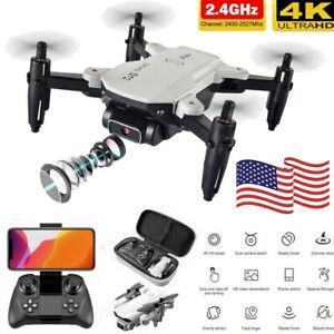 2021 RC Drone 4k HD Wide Angle Camera WIFI FPV Drone Camera Quadcopter USA