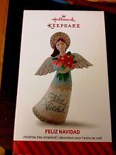 Hallmark 2014 - Feliz Navidad Angel - Keepsake Ornament - NIB