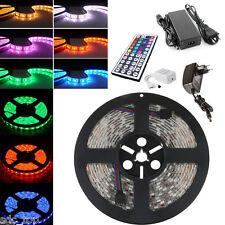 1m-50m LED RGB SMD 5050 30/60 LED/m Streifen Strip Band Leiste +Controller+Trafo