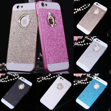 Glitter Luxury Crystal Hard Back Phone Case Cover XMAS iPhone 4s 5s 6 Plus SE