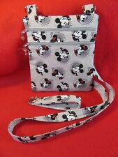 Handcrafted Crossbody Mickey Minnie Bag with Adj Strap  *Free SHIP*